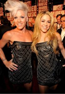 pink&shakira who wore it best?!